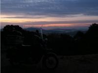 石松山朝焼け