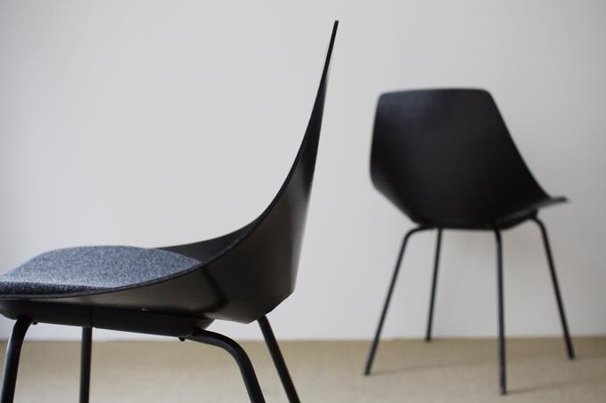 chaise tonneau by pierre guariche build up. Black Bedroom Furniture Sets. Home Design Ideas