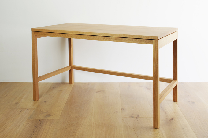 work desk 製作例 fundamental furniture build up
