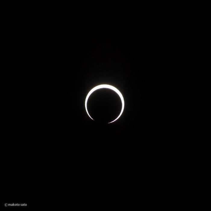 金環日食(2012.05.21 / 07:36:17)