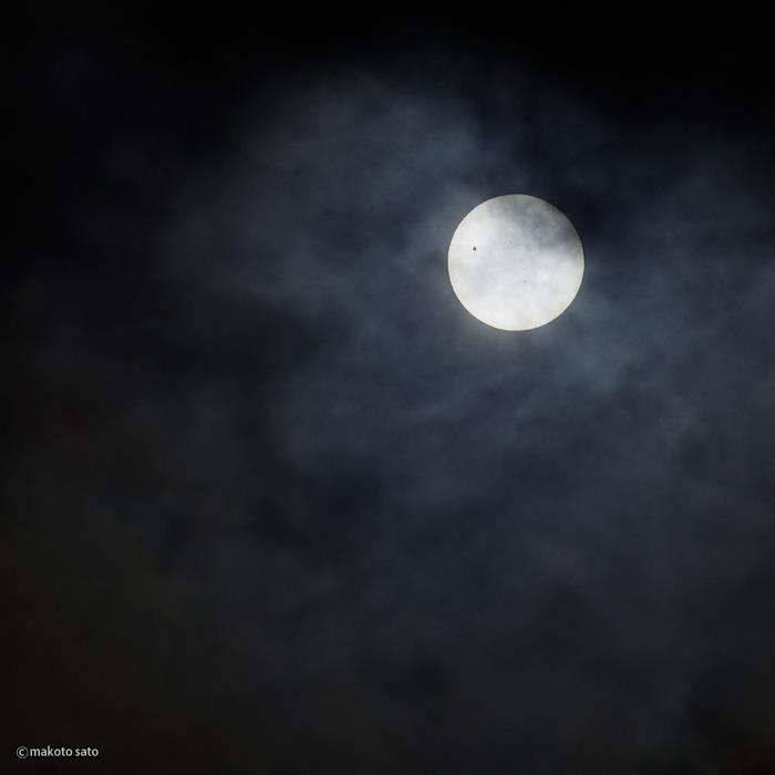金星日面経過(2012.06.06 / 09:26:49)
