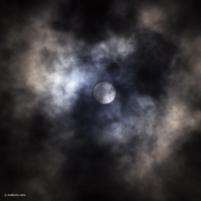 金星日面経過(2012.06.06 / 09:33:05)