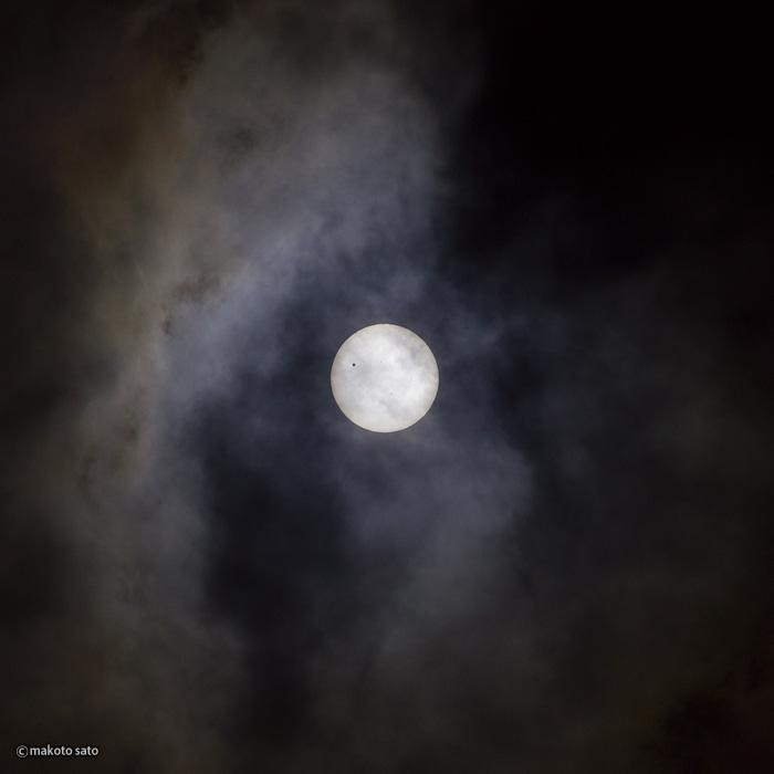 金星日面経過(2012.06.06 / 09:37:50)