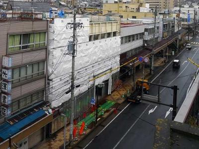 2011_12_02相生町二丁目昭和堂ビルの解体工事