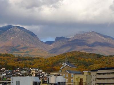 2013_11_12相生町から浅間山・冠雪