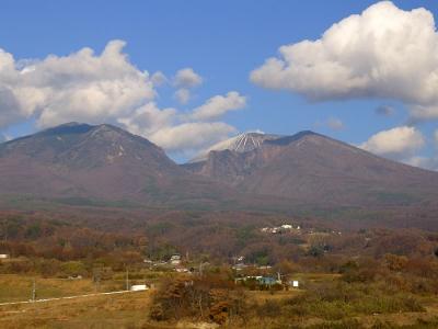 2013_12_01小諸高原美術館から浅間山