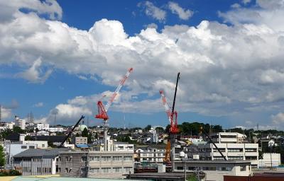 2014_08_18相生町から市庁舎建設現場