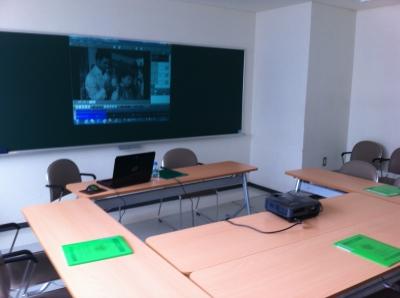 授業前の教室