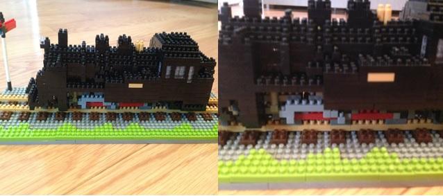 蒸気機関車完成