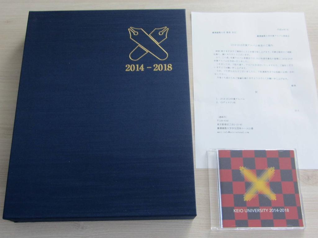 2014-2018卒業アルバムとCD-ROM