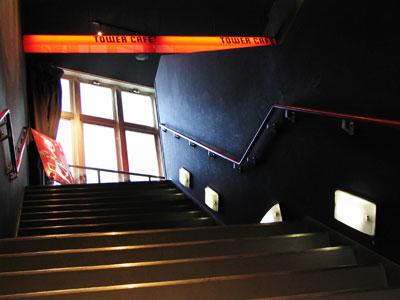 リキッドルームの階段