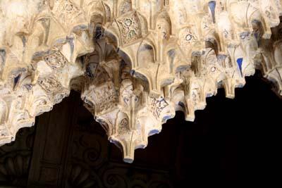 天井の彫刻(アップ2)