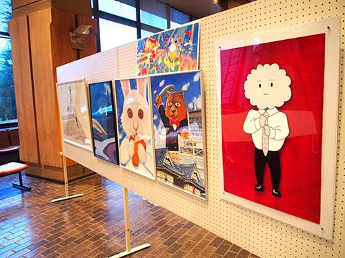 永本とイラスト教室の作品展