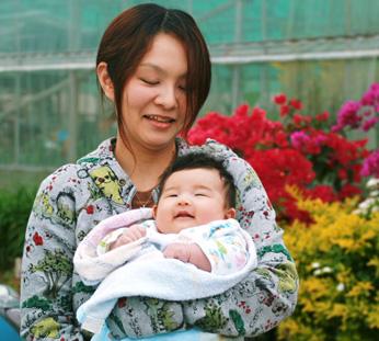 真優子とひなちゃん