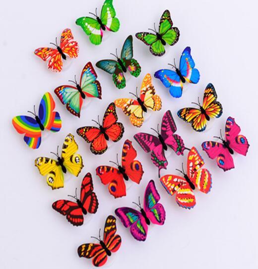 LEDライト蝶