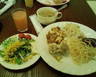 ウィンズラジャ舞浜ユーラシア・夕食バイキング3