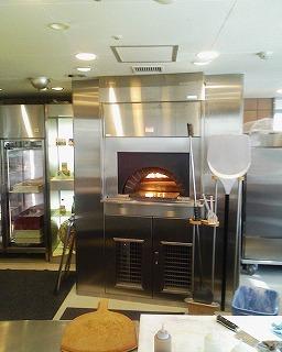シェラトングランデトーキョーベイ・グランカフェ・ピザの石焼釜