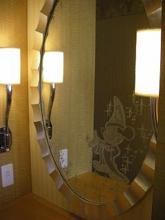 アンバサダーホテル・スーペリア・鏡