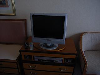 ヒルトン東京ベイ・エグゼクティブルーム・液晶TV