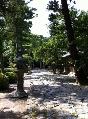桜井神社参道