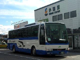 小諸発新宿行きJR高速バス