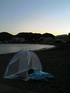 070814森戸海岸キャンプ