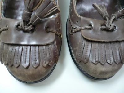こげ茶の婦人靴B