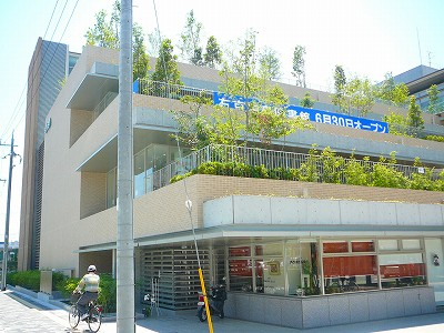 右京区役所建物横