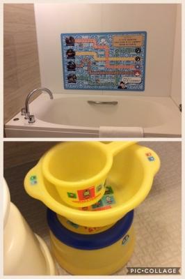 トーマスルームお風呂