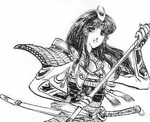 姫武者の話。