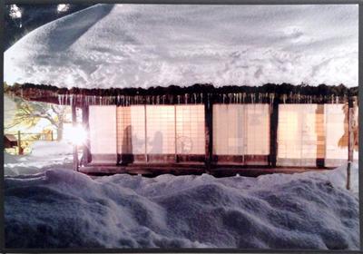 飛騨の冬(最優秀賞)伊丹