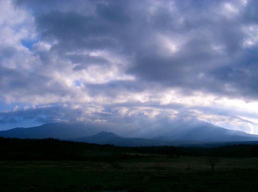 2007年2月22日 AM8時01分 富士山