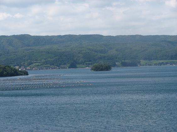 能登島 ツインブリッジからの風景