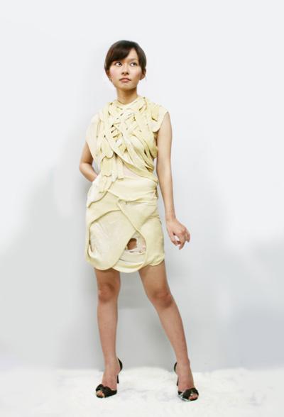 小麦粉のドレス