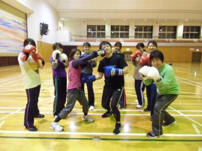 ボクシング集合写真