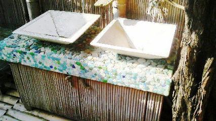 マリングラス洗面台