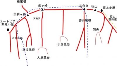 北壁<概念図>
