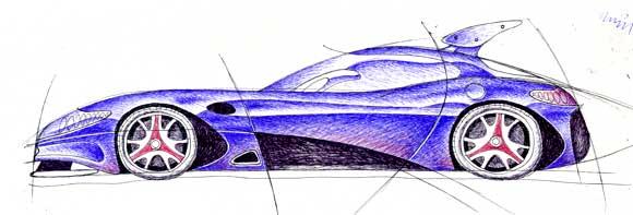 車ラフ2007.1.21う