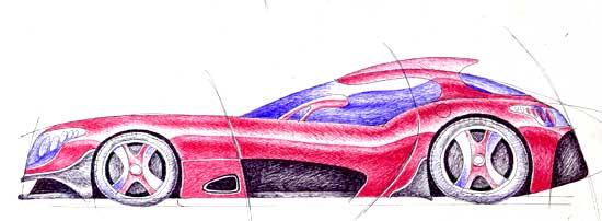 車ラフ2007.1.27あ