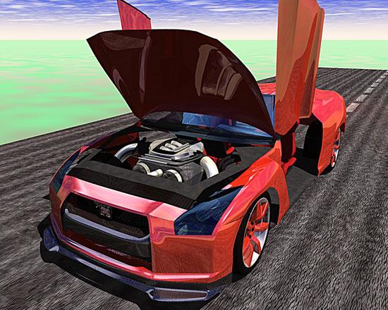 GTRエンジン2008.5.18