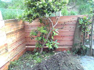 お庭の塀01