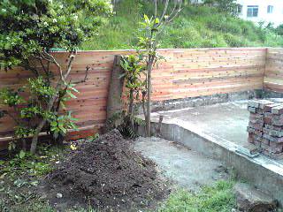 お庭の塀02