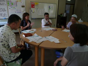 8月5日手話教室1