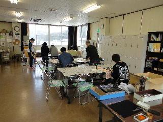 2月の習字教室