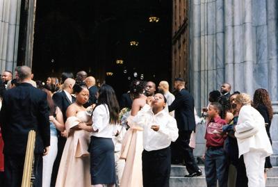 NYの結婚式