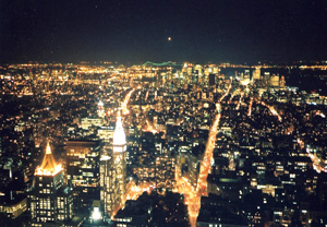 マンハッタンの夜景