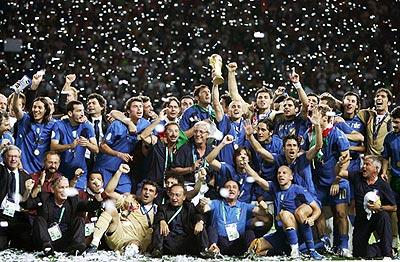 おめでとう!イタリア代表!!