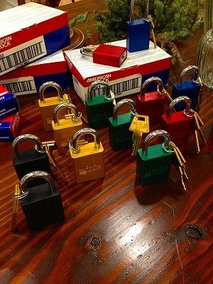 Colorful Padlocks!