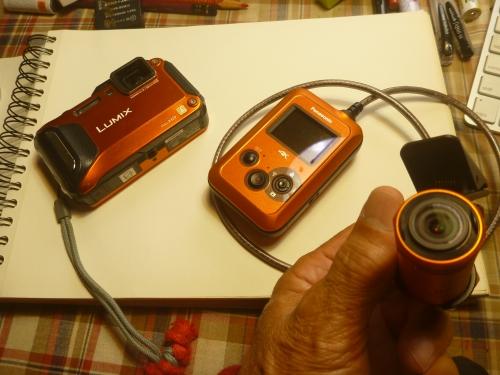パナソニックのウェアラブルカメラHX-A500