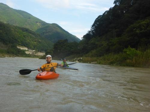 四万十川のカヌーツーリング